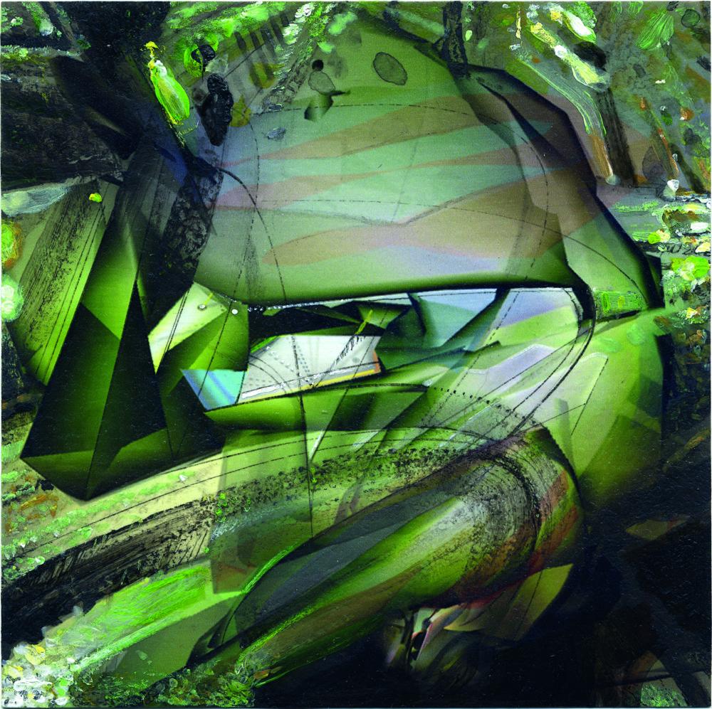 Objavená architektúra, 2006. 10,1 x 10,1 cm.
