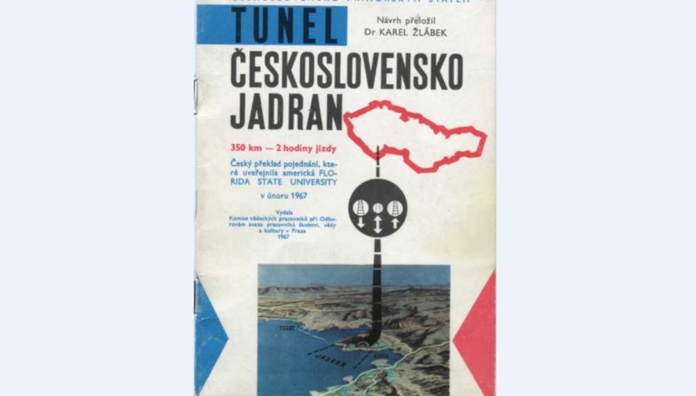 Dokument profesora Žlábka z roku 1967. Foto - archív Galérie hlavného mesta Prahy