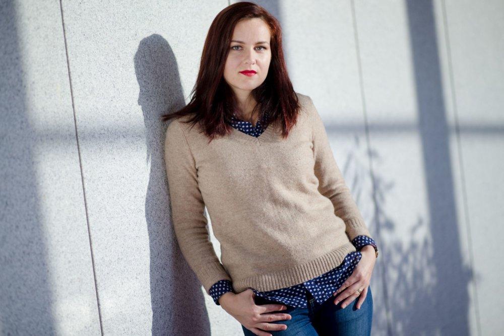 Operná speváčka Andrea Vizvári. Foto - Vladimír Šimíček
