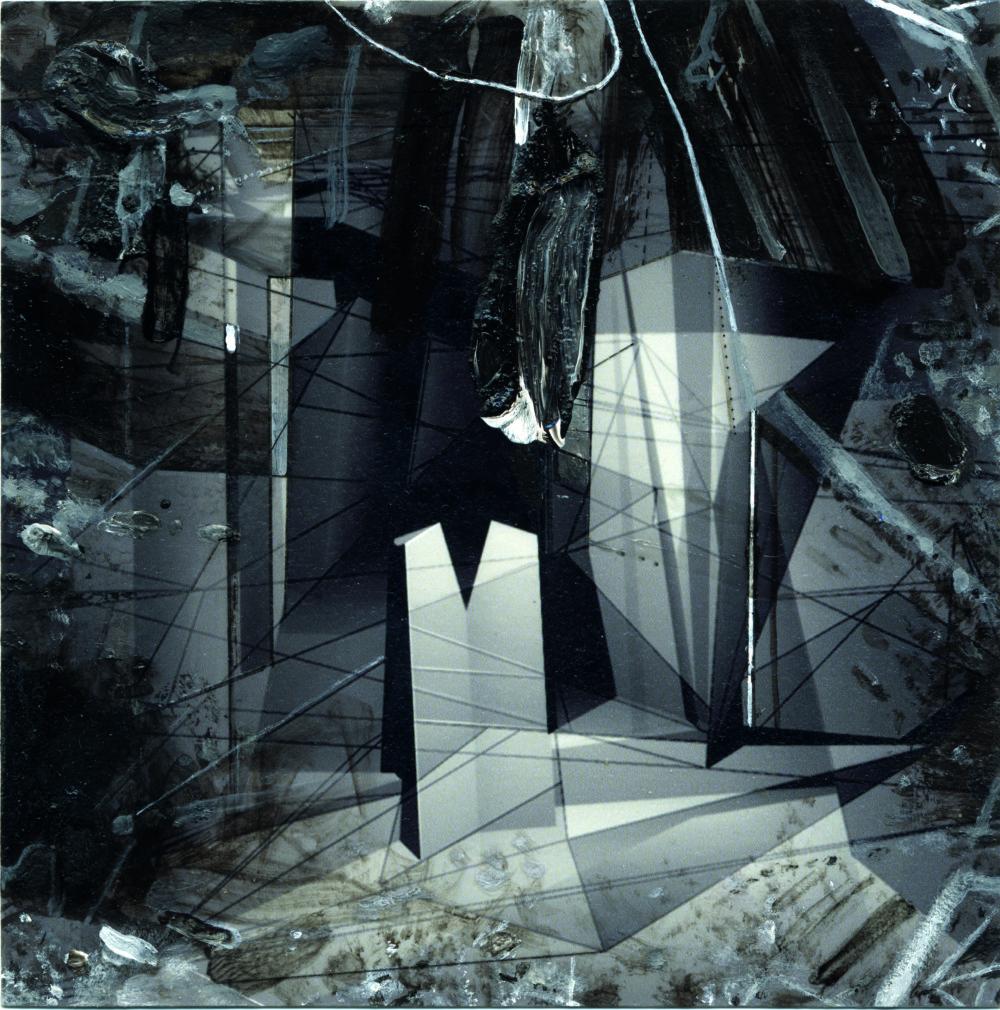Daniel Fischer: Záhady geometrie, 2005-2006, 10,4 x 10,3 cm