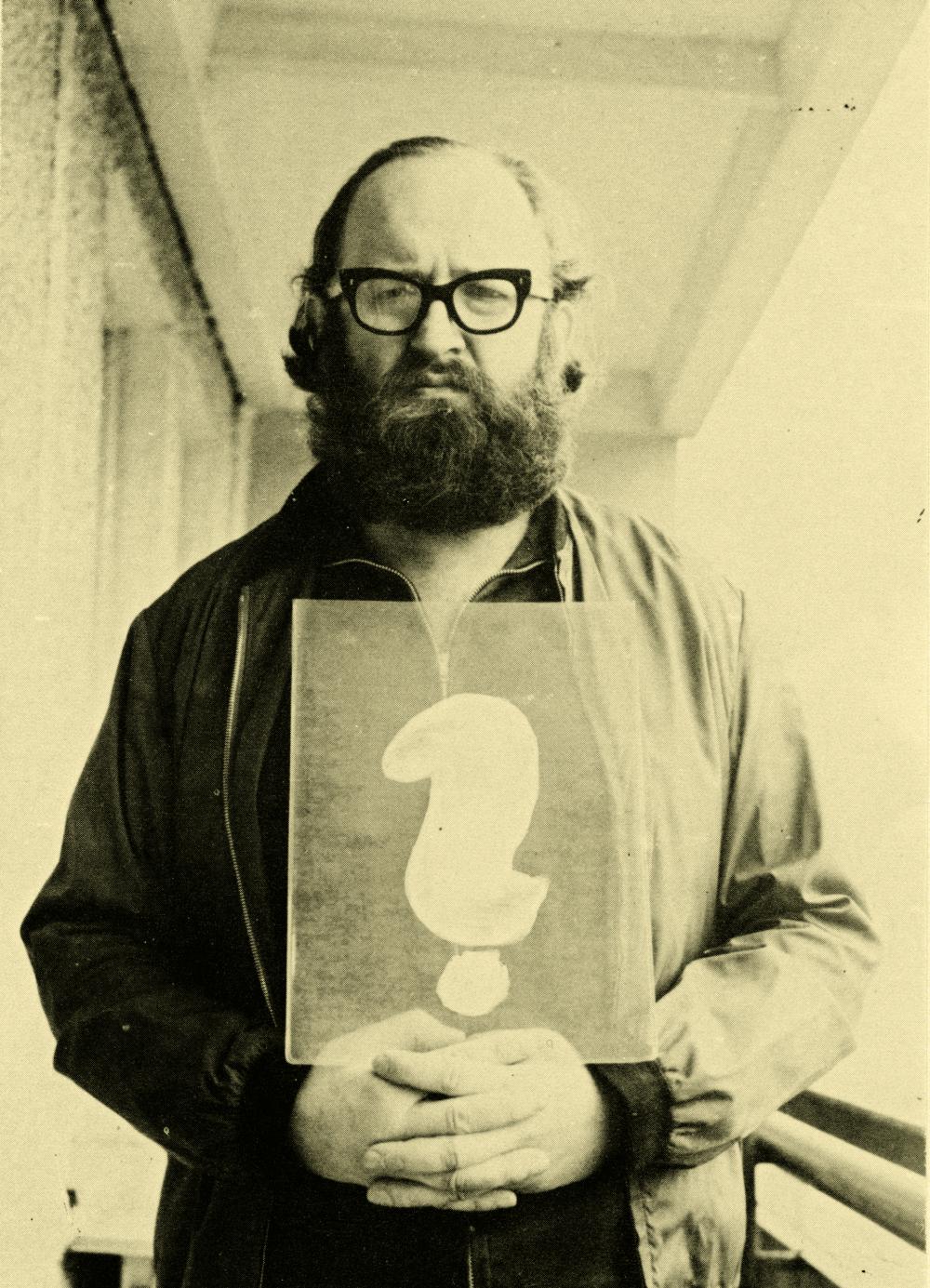 Július Koller P.F. 1981 , 1980. Foto: Archiv Květoslava Fulierová