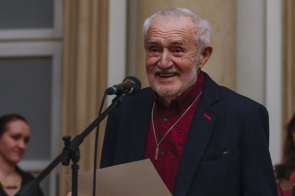 František Kyselica z organizácie Vŕba. Foto – TASR