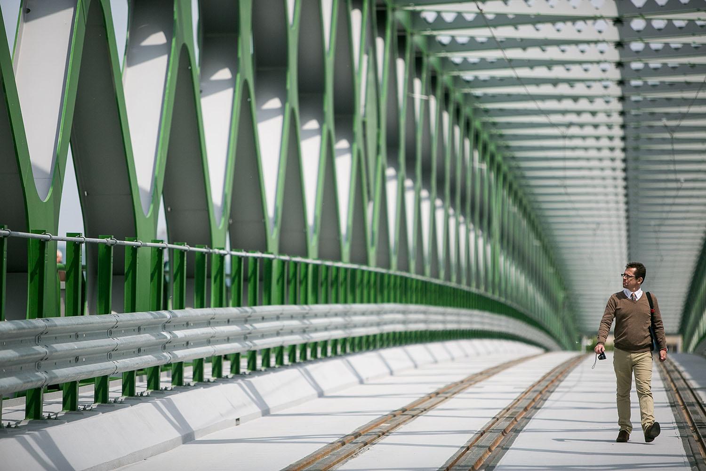19. 5. 2016, Bratislava. Starý most, otvorili ho po troch rokoch. Foto N - Vladimír Šimíček