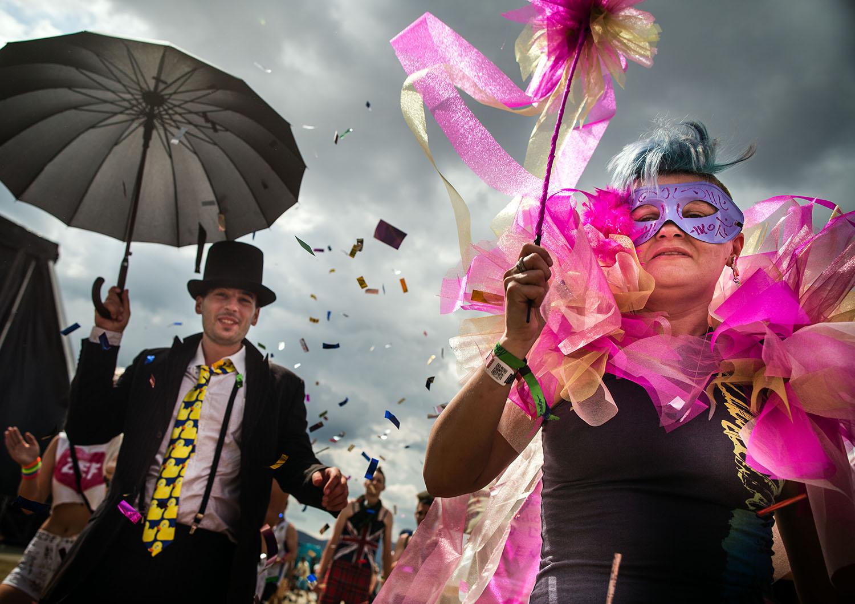 9. 7. 2016, Trenčín. Tradičná slávnostná promenáda na festivale Pohoda. Foto N - Tomáš Benedikovič