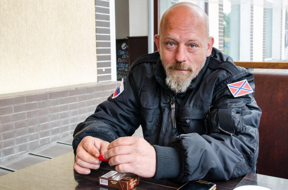 Mário Reitman, sedemkrát súdne trestaný rasistický skinhead z Banskej Bystrice. Foto N - Tomáš Forró