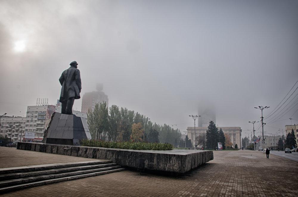 V centre Donecka. Foto N - Tomáš Forró