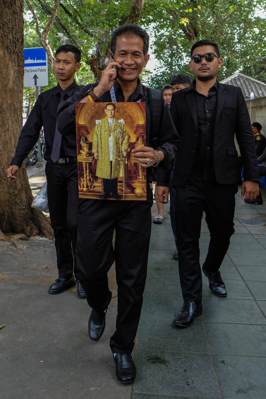 Kráľa Bhumibola Adulyadeja všetci milovali pre to, že sa onich zaujímal. Foto - Noel Rojo