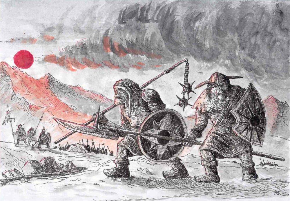 Orkovia v Mordore. Autor - M. H.
