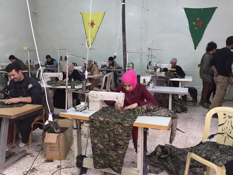 Photo by Janet Biehl in Rojava