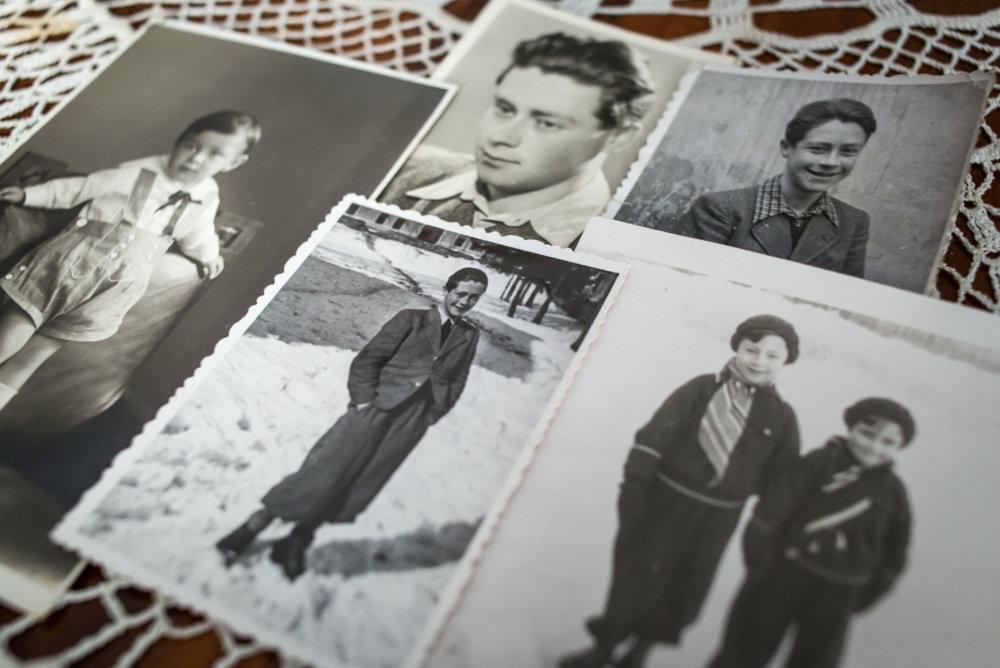 Otto Šimko a jeho rodina. Foto N - Tomáš Benedikovič