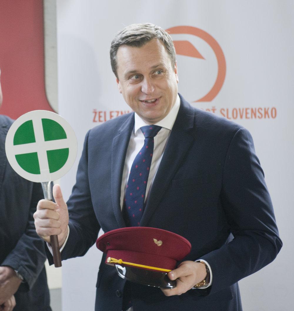 Dostal Andrej Danko ponuku vypraviť vládny vláčik? Foto - TASR