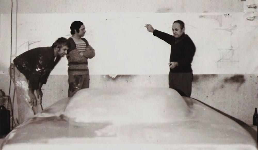 Tvorba Coupé (1977). Foto - Archív Andreja Chotváča