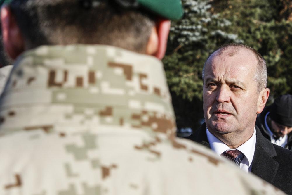 Minister obrany Peter Gajdoš. foto - TASR