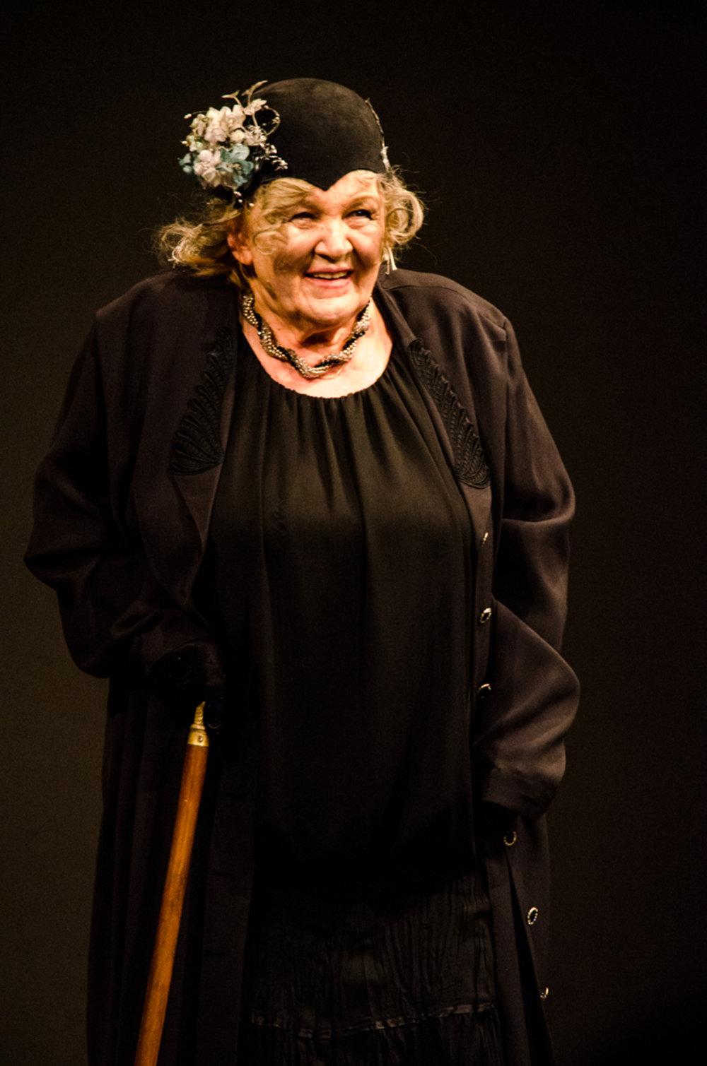 Herečka Zita Furková predvlani účinkovala v slávnostnom programe k 25. výročiu vzniku divadla Astorka Korzo' 90. FOTO TASR - Jakub Kotian
