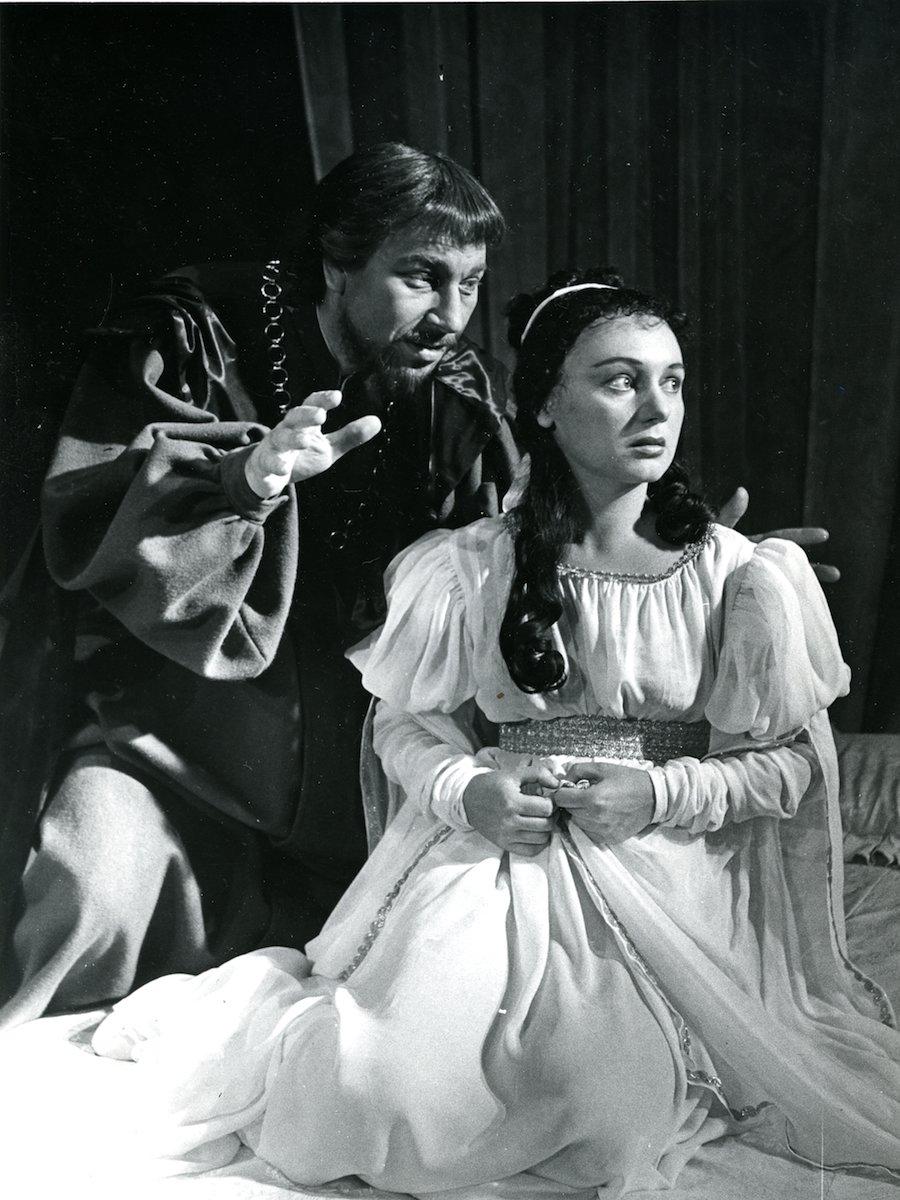 Shakespeare: Rómeo a Júlia (1957). Foto - Gejza Podhorský