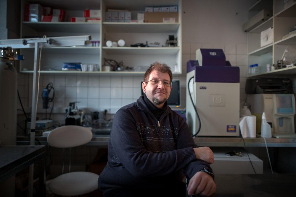 Vedec a lekár Peter Celec z UK. Foto N – Tomáš Benedikovič