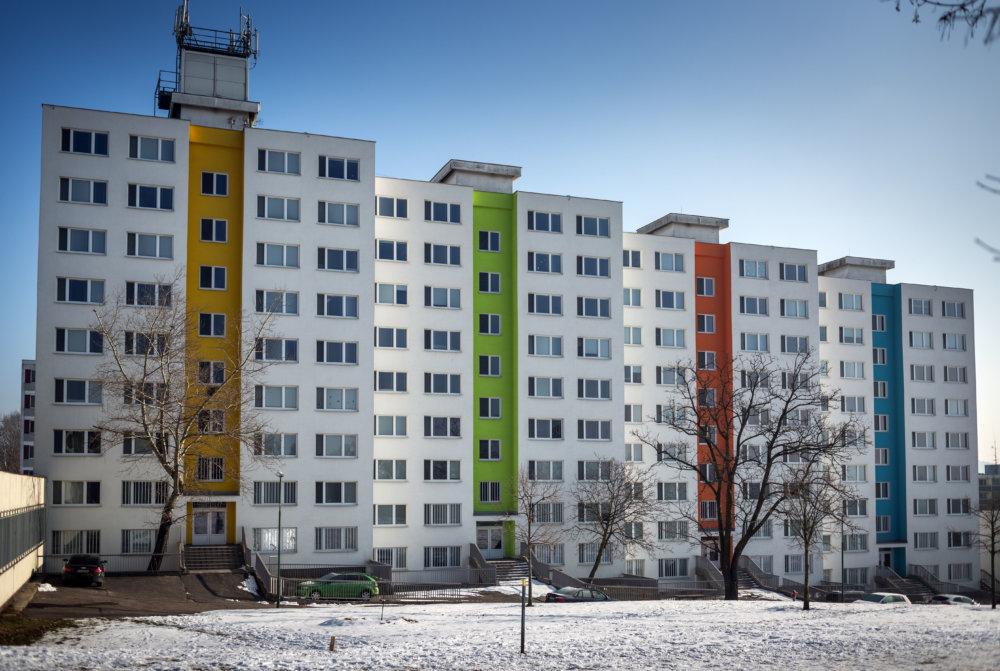 Manželské internáty v Mlynskej doline. Foto N - Tomáš Benedikovič