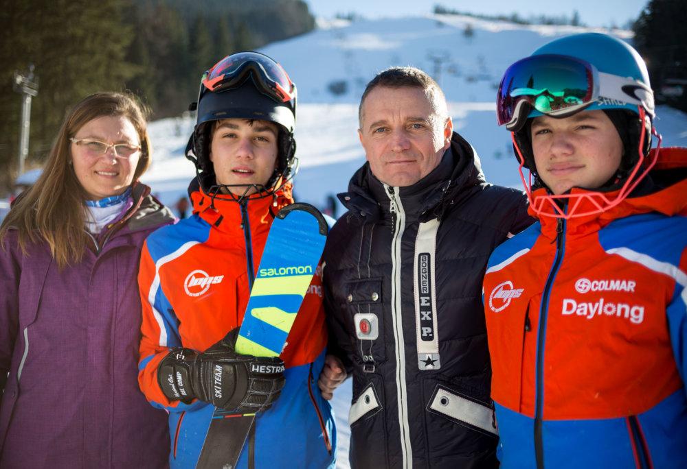 Balážovci (vľavo) a Kleinovci. Foto N - Tomáš Benedikovič