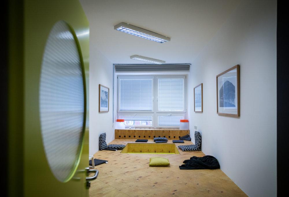 Miestnosť na individuálny tútoring, ktorý volajú suši bar. Foto N - Tomáš Benedikovič