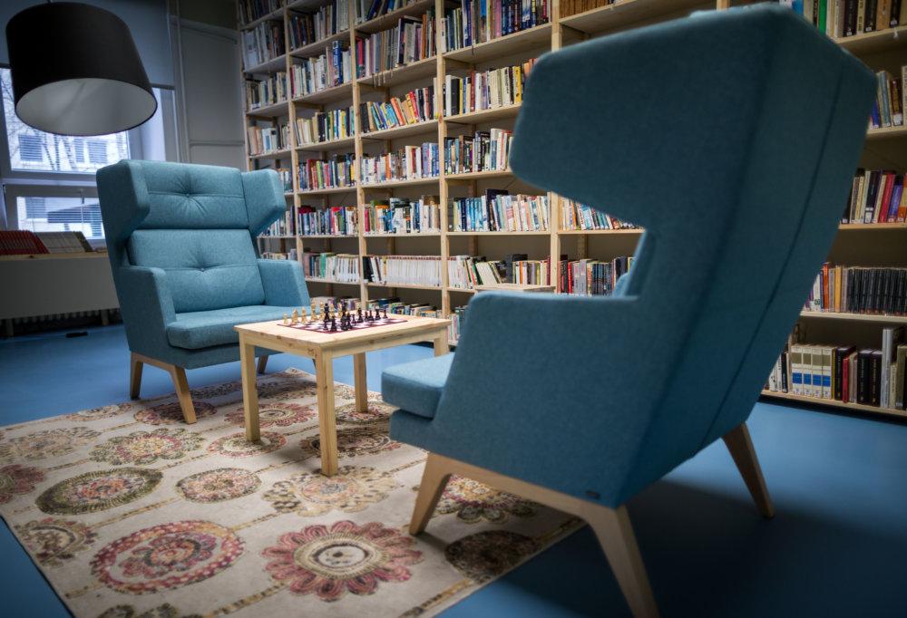 knižnica. Foto N - Tomáš Benedikovič