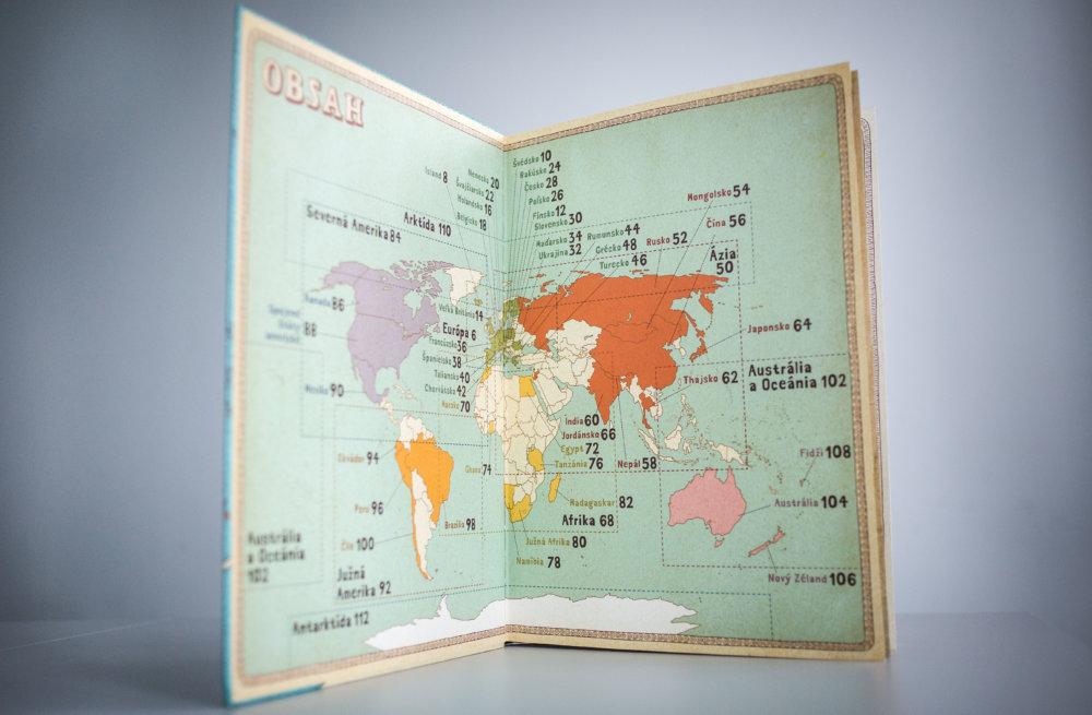 Kreslené mapy sú skoro celosveteovým hitom. Foto N - Tomáš Benedikovič