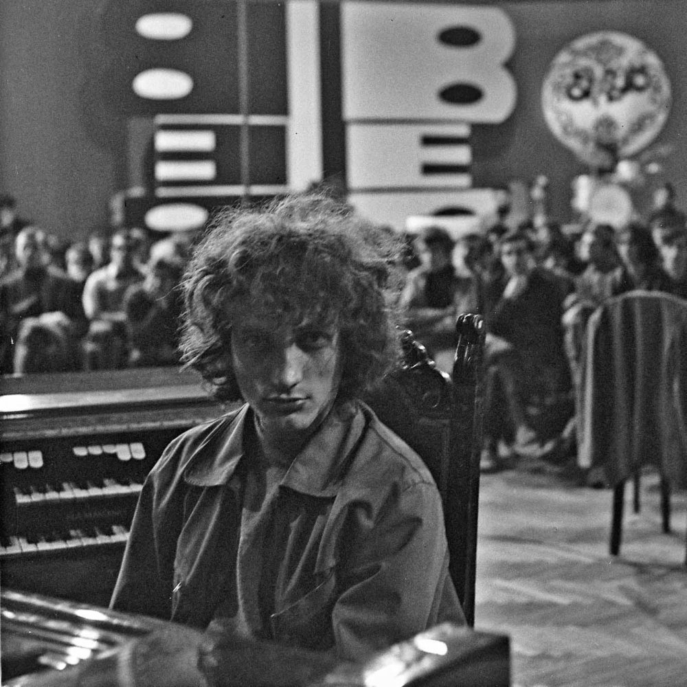 S Prúdmi počas nakrúcania programu pre televíziu (1968).