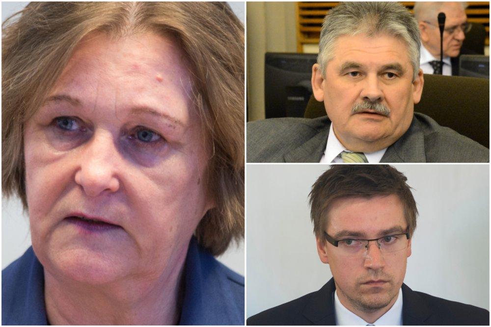 Jana Dubovcová, Ján Richter a Marián Valentovič. Foto - tasr