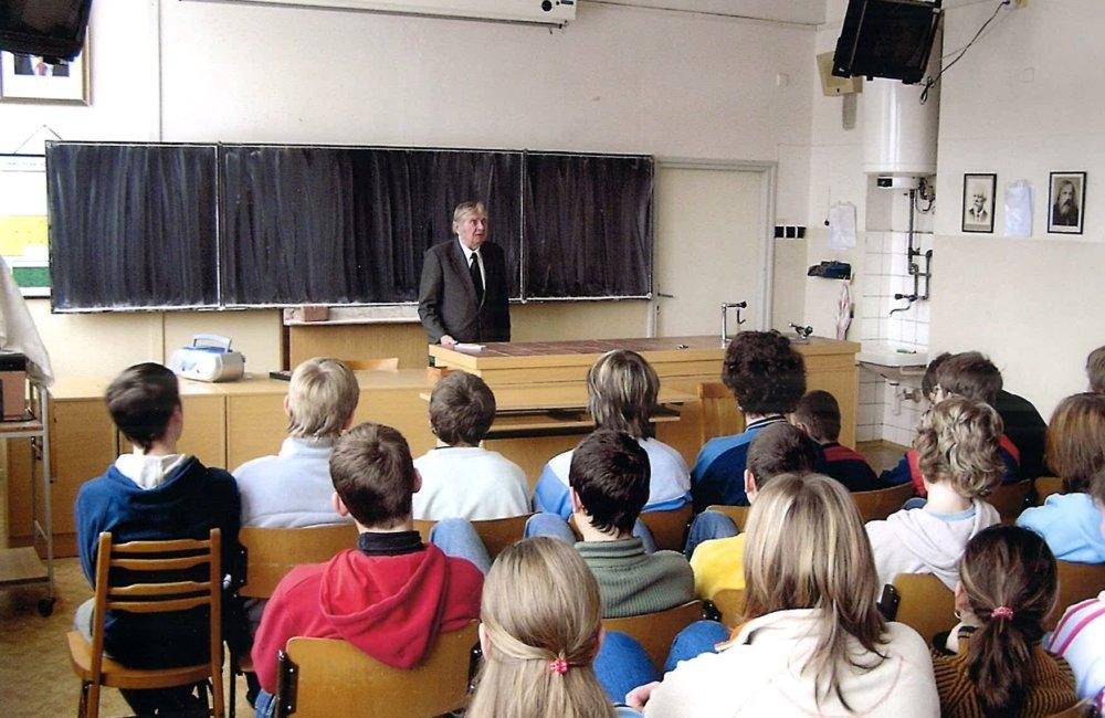 Dobroslav Pustaj spomína na roky vo väzení aj v školách. Foto - archív D. P.