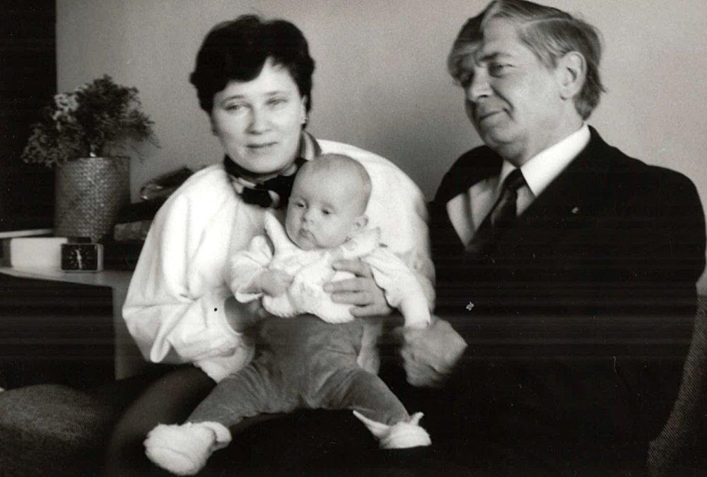 S manželkou a jedinou dcérou. Foto - archív D. P.