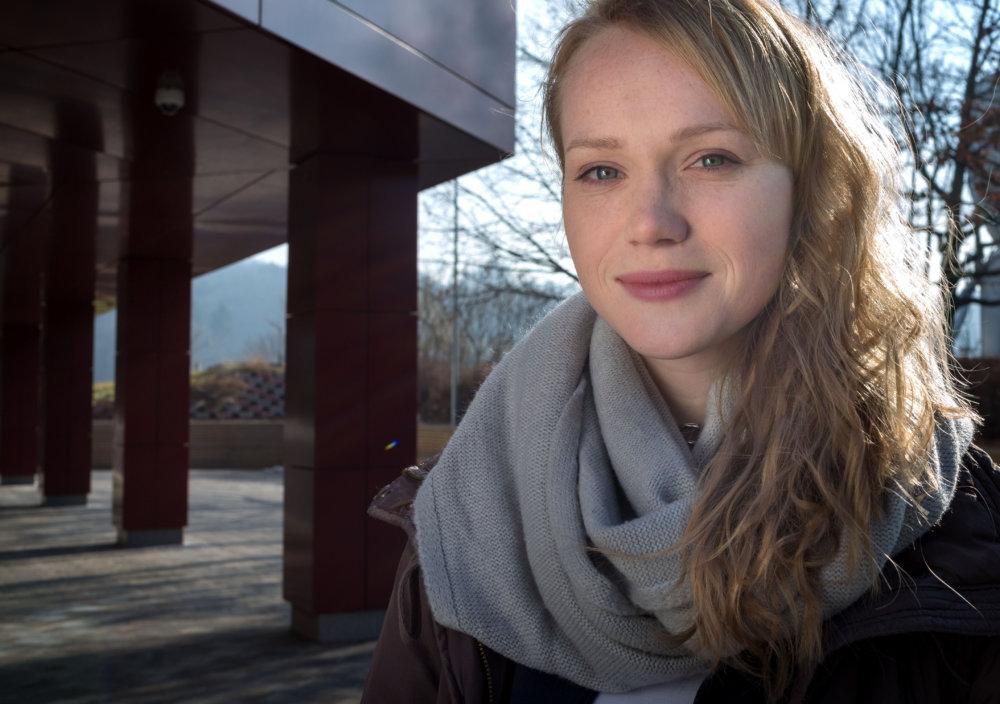 Dominika Zeleníková- Morávková. Foto N - Tomáš Benedikovič