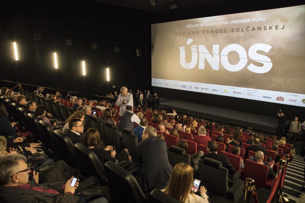 Premiéra filmu Únos. Foto - tasr