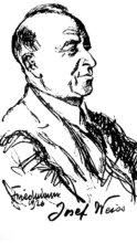Portrét Josefa Weissa.