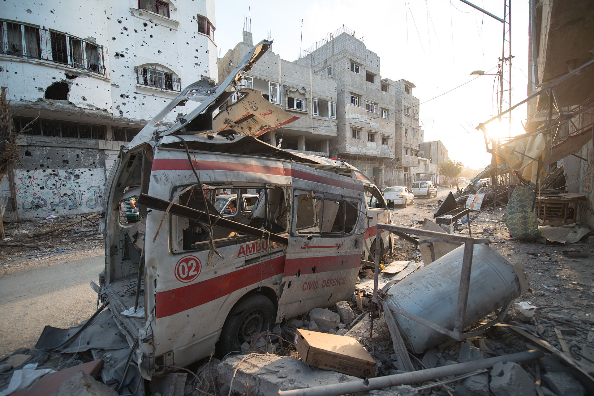 destroyed_ambulance_in_the_city_of_shijaiyah_in_the_gaza_strip