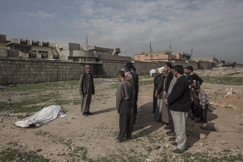 Pohreb muža zastreleného snajperom. FOTO - JURAJ MRAVEC