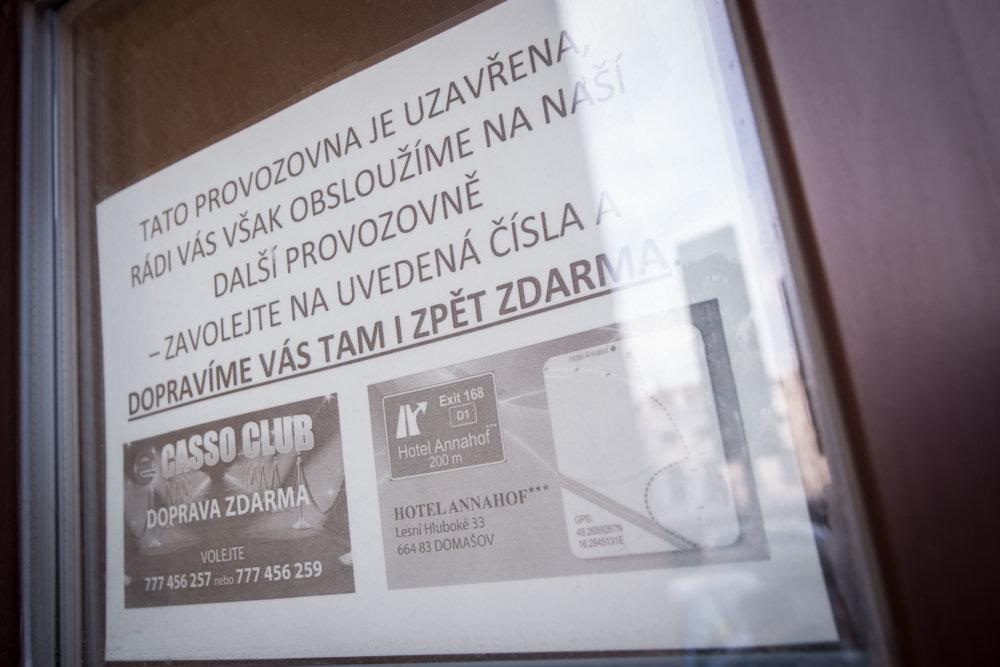 Viacero herní v Brne po zákaze hazardu zatvorilo. Foto N - Vladimír Šimíček