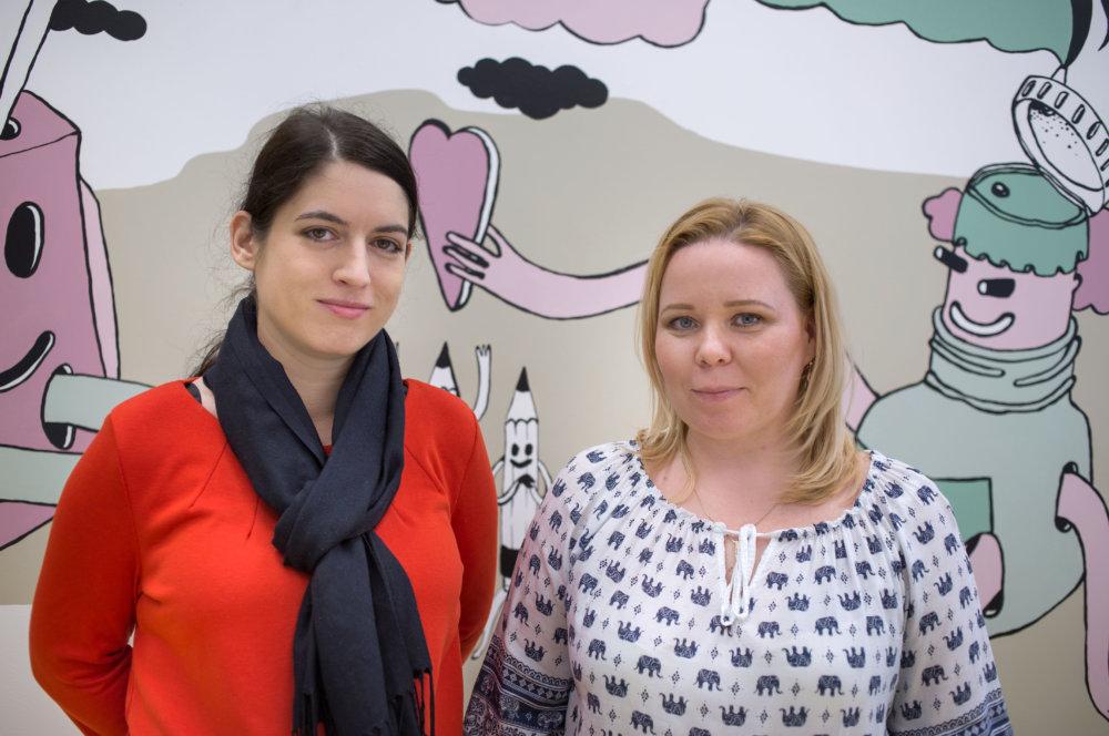 Katarína Kopper a Beata Obradovičová. Foto N - Tomáš Benedikovič