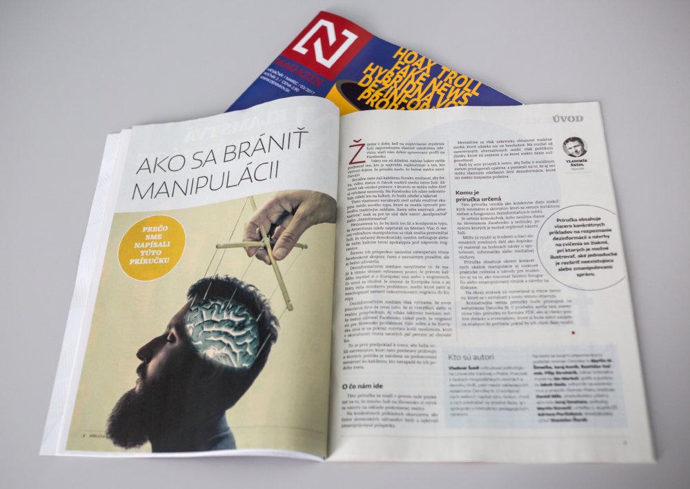 Úvod príručky o klamstvách a konšpiráciách pre stredné školy. Foto N - Tomáš Benedikovič