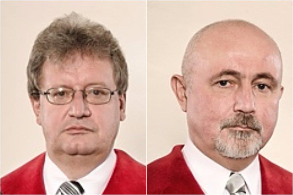 Ladislav Orosz a Peter Brňák. foto - Ústavný súd
