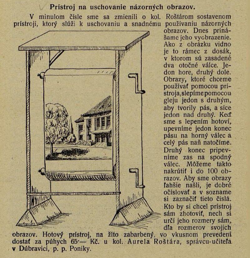rostar-vynalez