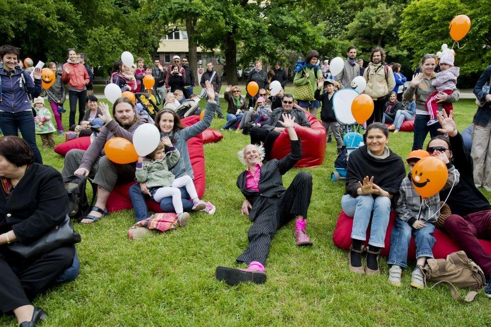 Festival Cirkul'art v Medickej záhrade v lete 2013. Foto - TASR