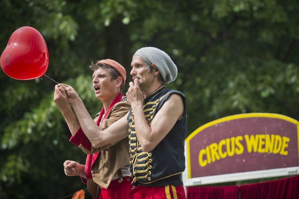 Festival Cirkul'srt v Medickej záhrade v lete 2014. Foto - TASR