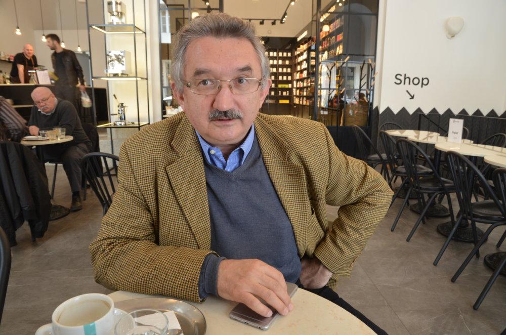 Profesor Július Horváth. FOTO N - Mirek Tóda