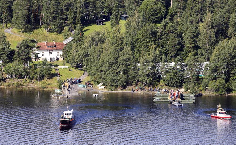 Ostrov Utoya má len 10 hektárov, 22. júla 2011 na ňom bolo okolo 600 ľudí. Foto - tasr/ap