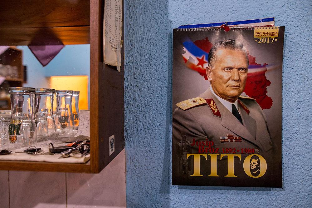 Mnohým Srbom chýba Juhoslávia aj Tito. Foto N – Vladimír Šimíček