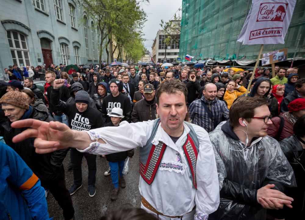 Veľký protikorupčný pochod. foto N - Tomáš Benedikovič