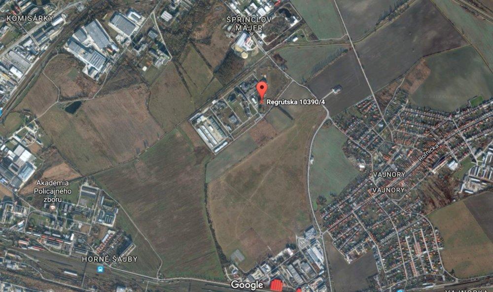 Oddelenie cudzineckej polície ministerstvo budúci rok presťahuje na kraj mesta. Foto - Google maps