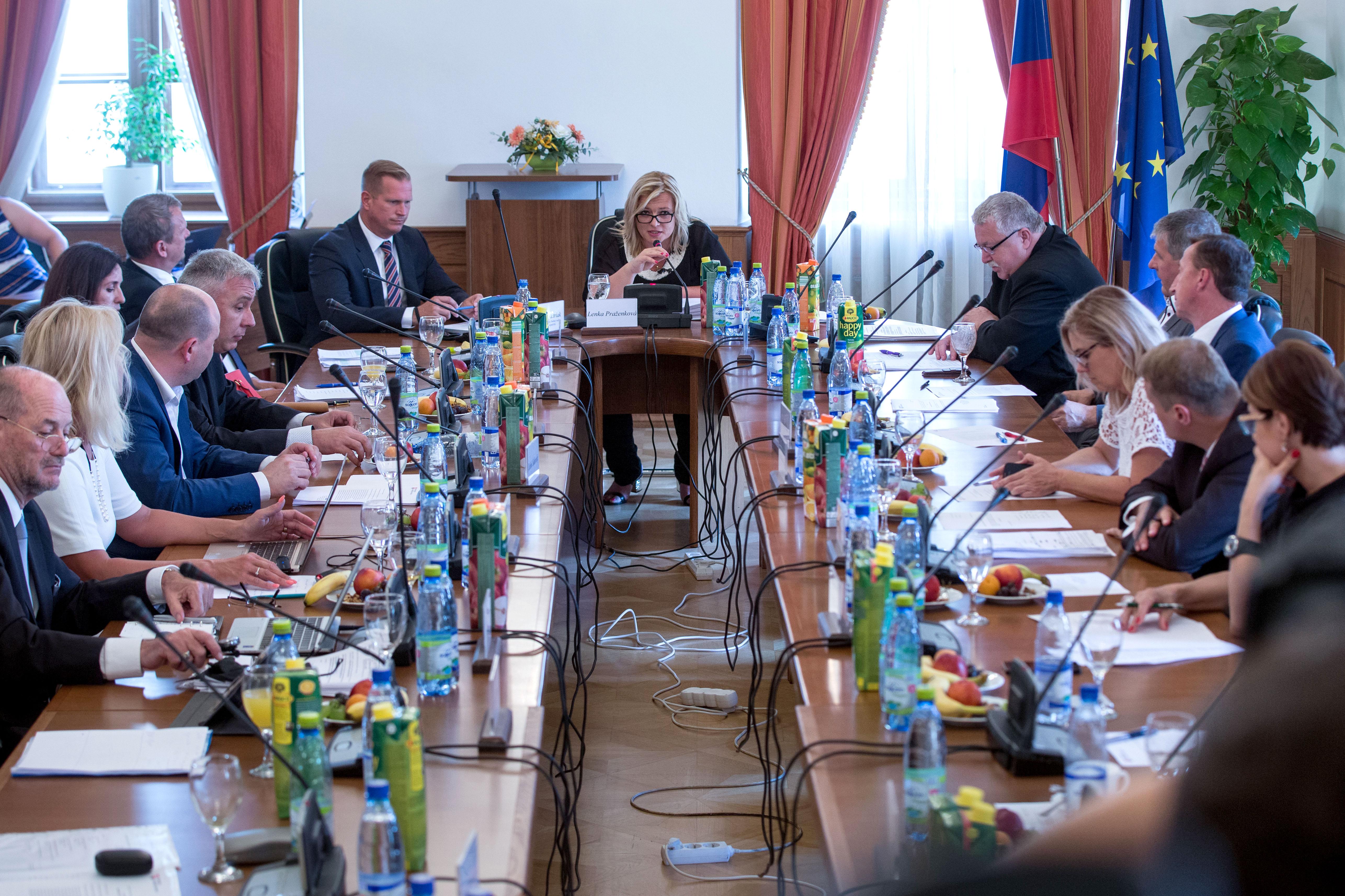 Zo zasadnutia súdnej rady. Foto N – Tomáš Benedikovič