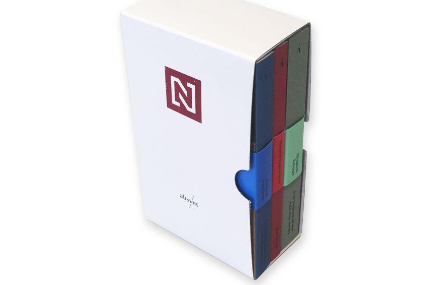 Tri naše najobľúbenejšie knihy z Absyntu (Alexijevič, Asbrink, Kapuściński) v darčekovej krabici N