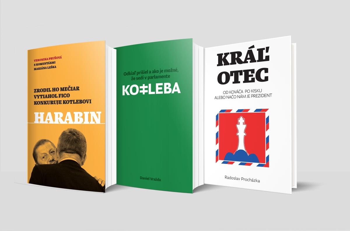 Tri knihy k prezidentským voľbám 2019