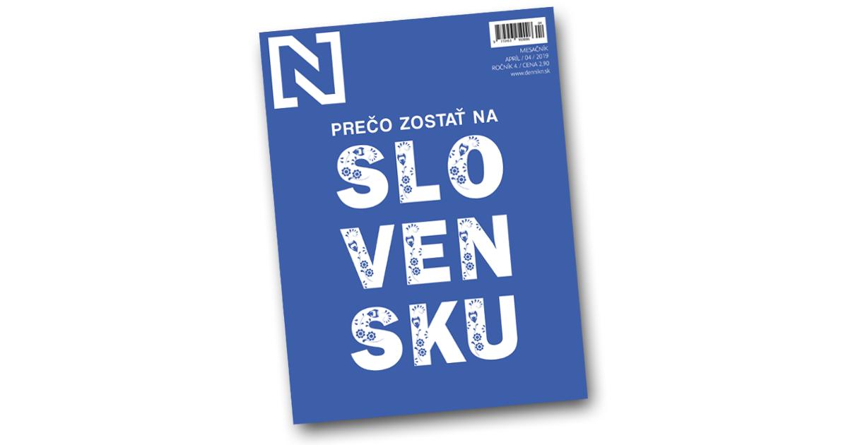 """N Magazín """"Prečo zostať na Slovensku"""" zdarma na stredné školy"""